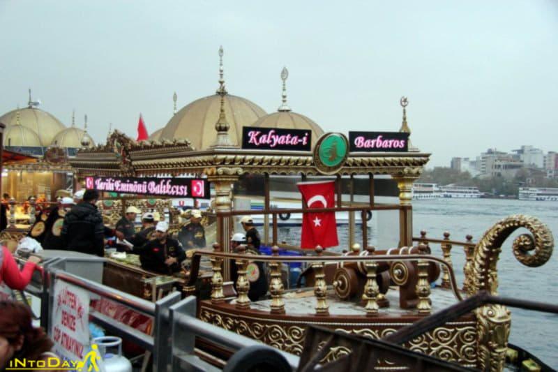 دیدنی های اسکله امینونو استانبول