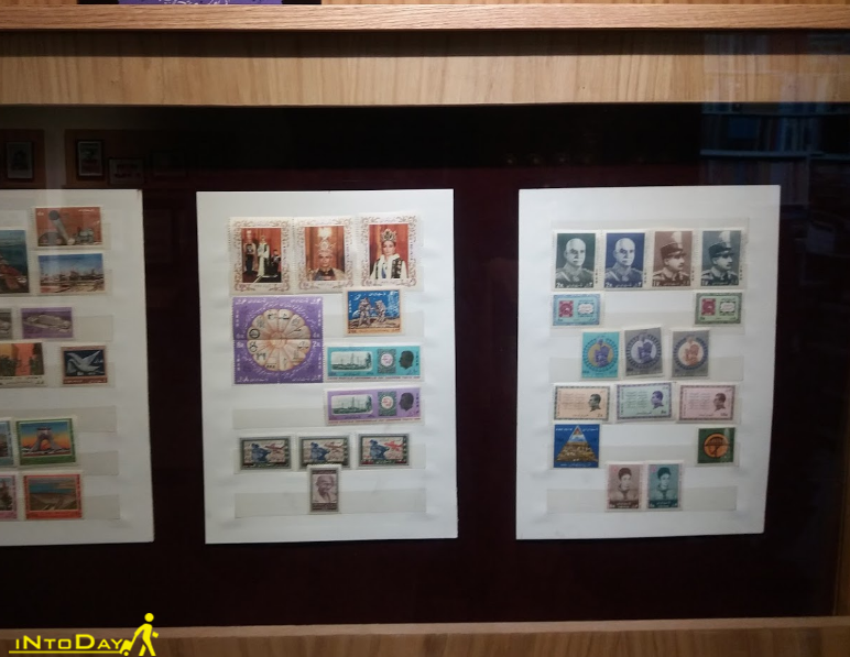 کالشکن موزه تمبر یکتا کرج